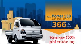 New Porter H150 Giá Mới Chỉ Từ 366 Triệu Đồng  Tặng Ngay 100% Phí Trước Bạ Khi Mua Xe Tại Hyundai Gia Lai