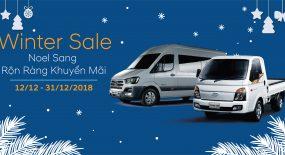 Noel sang – Rộn ràng khuyến mãi, hai dòng xe Hyundai Solati & new Porter H150