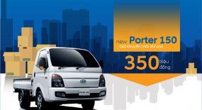 Mua New Porter H150 Với Giá khuyến mãi chỉ còn 350 triệu