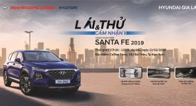 Trưng bày & giới thiệu Hyundai Santafe 2019 tại Kon Tum