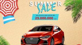 Summer Sale, Mua Hyundai Elantra, khuyến mãi ngay 25 triệu duy nhất tại Hyundai Gia Lai