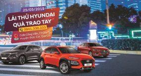 Lái thử Hyundai – Quà Trao Tay
