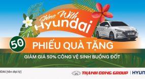 Khuyến mãi dịch vụ Hè 2019 cùng Hyundai Gia Lai