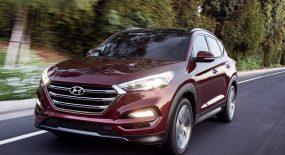 Hyundai Tucson 2018 có nhiều trang bị mới đã trưng bày tại đại lý