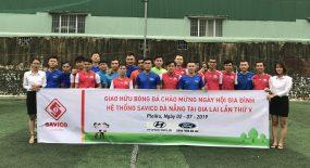 Giải bóng đá Giao Hữu chào mừng ngày hội gia đình hệ thống Savico Đà Nẵng tại Gia Lai lần thứ V