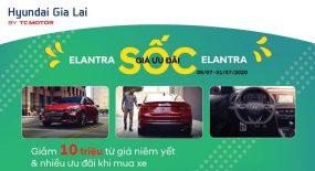 Khuyến mãi xe Hyundai Elantra khi mua tại Hyundai Gia Lai