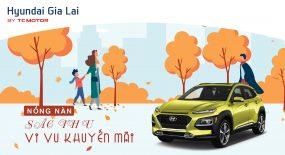 Chương trình khuyến mãi bán hàng dành cho xe Hyundai Kona Tháng  8/2020