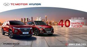 Hyundai Gia Lai thực hiện chương trình khuyến mại lên đến 40 triệu trong tháng 9