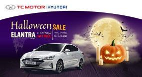 Happy Halloween – Khuyến Mại Khủng, Khuyến mãi Hyundai ELantra lên đến 34 triệu