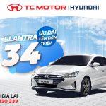 Hyundai Elantra, khuyến mãi lên đến 34 triệu trong tháng 07 tại Hyundai Gia Lai